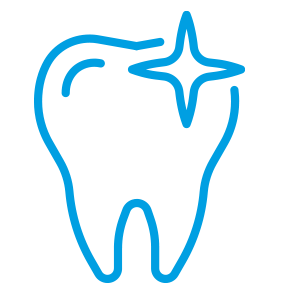 Zahnrestauration lindert Schmerzen